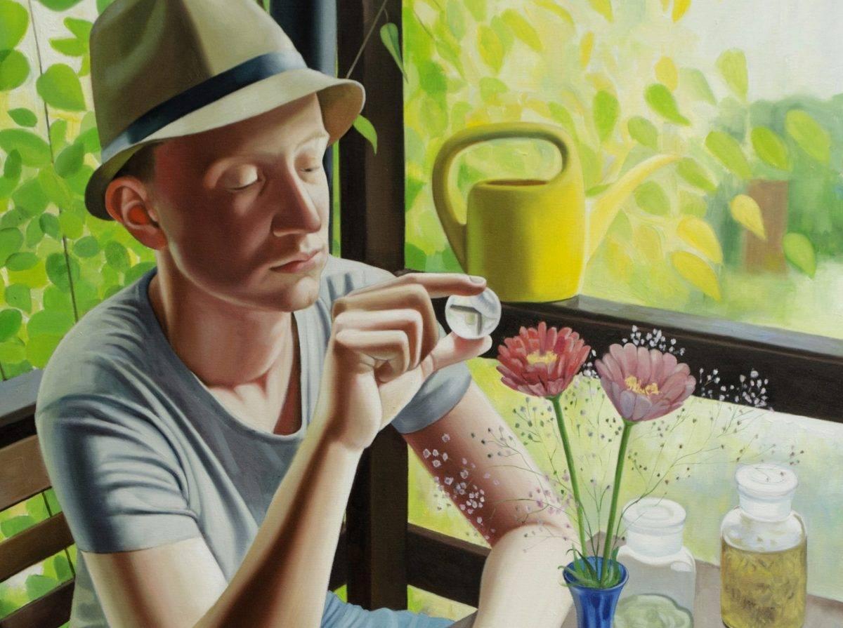 Kertész leszek – Kiss Márta festőművész kiállítása