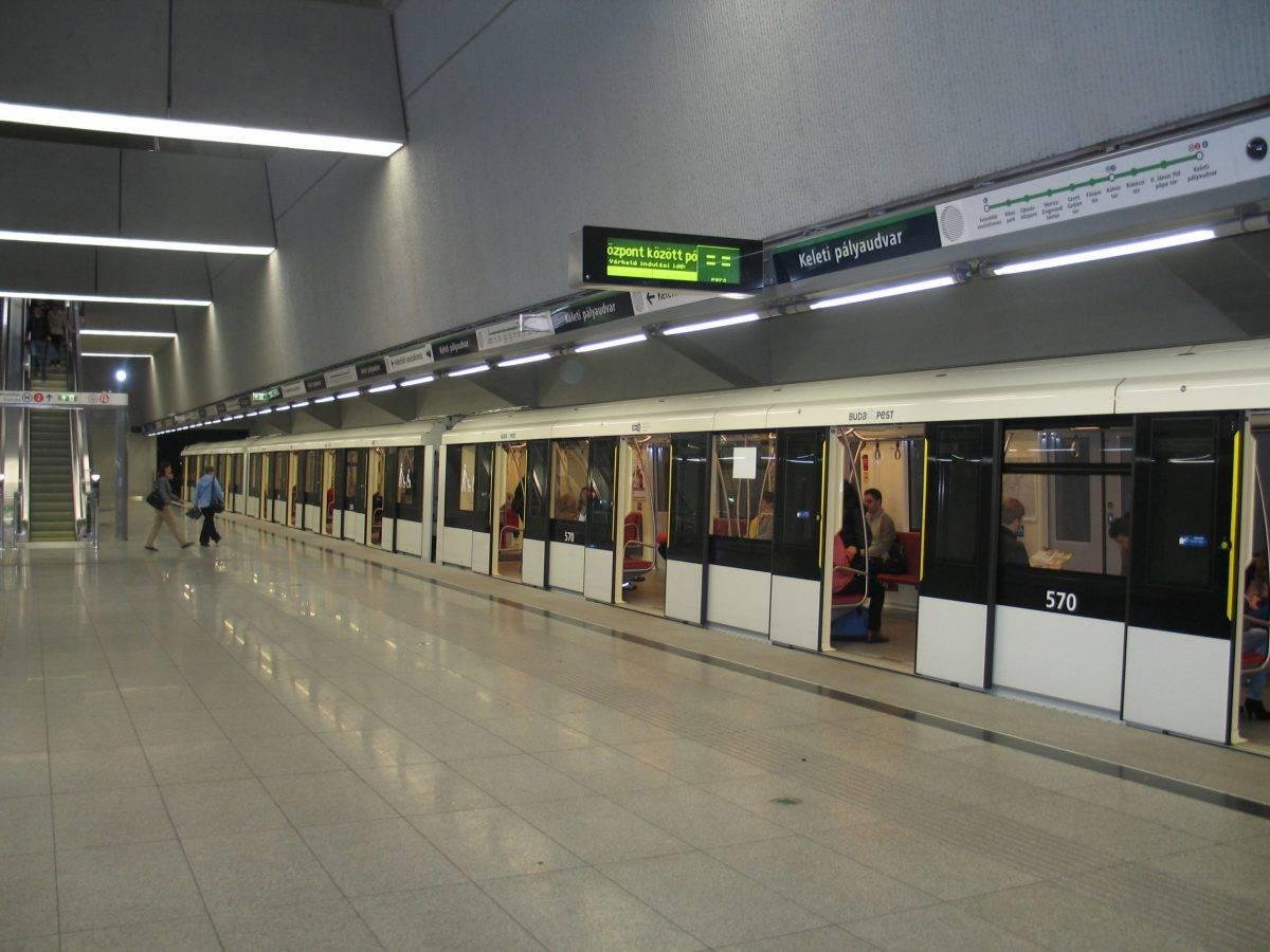 Gyakrabban jár csúcsidőben az M4-es metró november közepétől