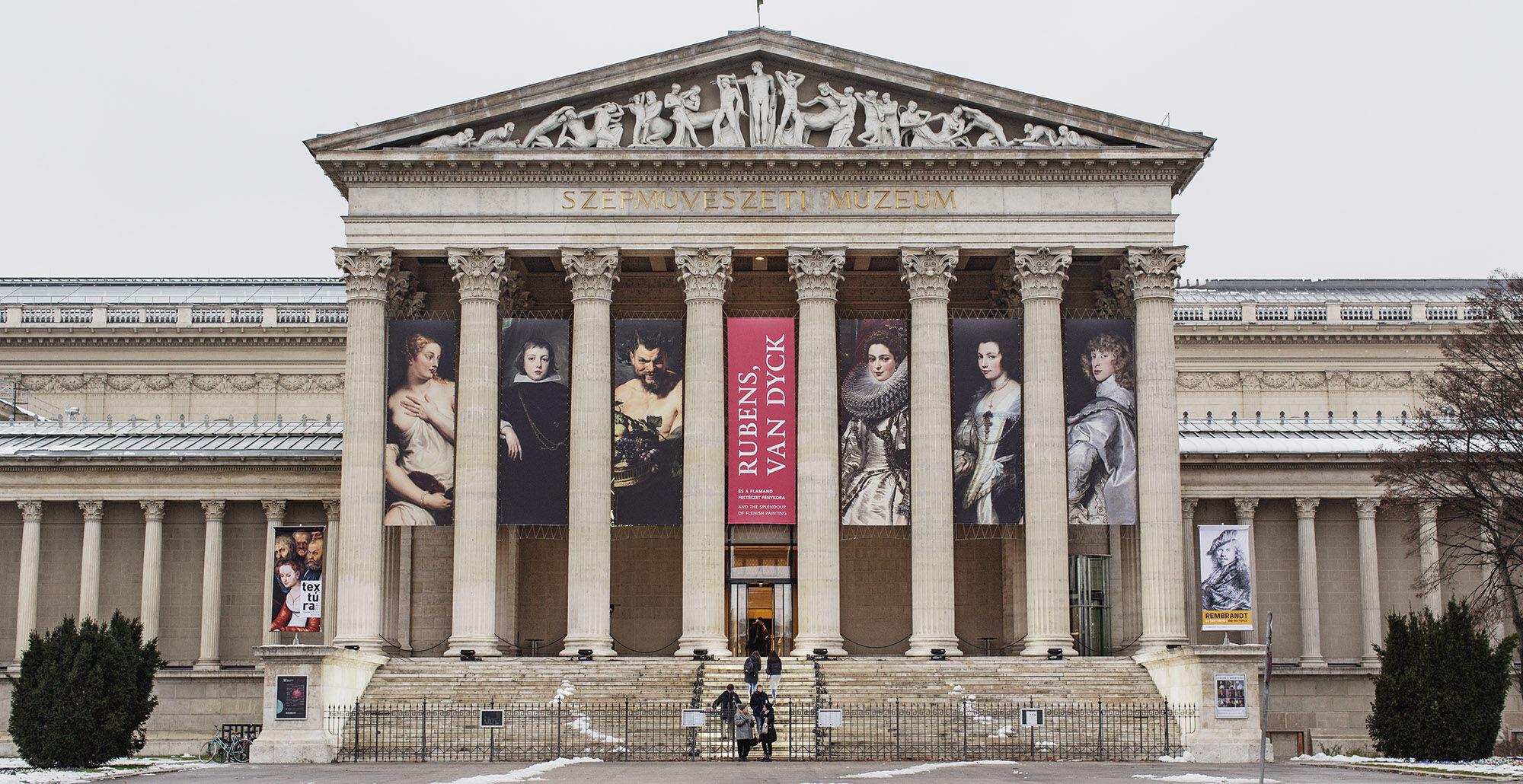 Bezár a Szépművészeti Múzeum is