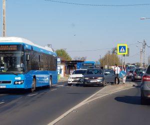 Baleset a Jászberényi úton befelé