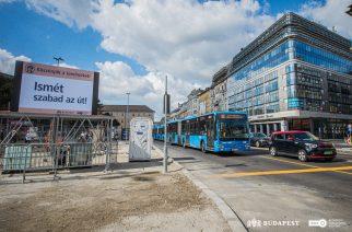 Jó hír! Felszabadul a közlekedés a Blahán, de terelések még lesznek a környéken